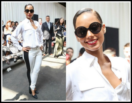 Alicia-Keys-front-row-Edun-Spring-2013-Show-White-Equipment-Blouse-Rag-Bone-White-Split-Skinny-Jeans14